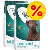 Pack ahorro: Concept for Life pienso para perros - Medium Light (2 x 12 kg)