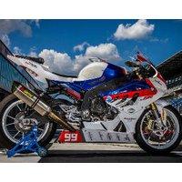 Motorrad-Renntaxi Templin