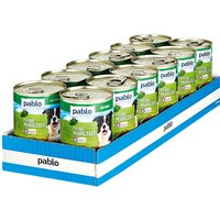 Pablo Hundefutter Wild 400 g, 12er Pack – 15%