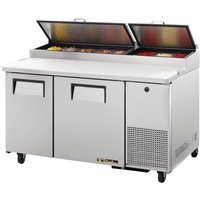 True 2 Door Pizza Prep Table TPP-60