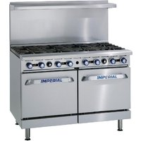 Imperial 8 Burner Natural Gas Oven Range IR8-N