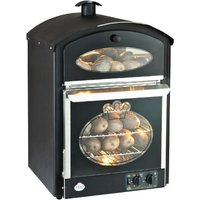 King Edward Bake-King Potato Oven Black
