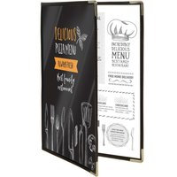 securit-crystal-double-sided-menu-cover-a4-double