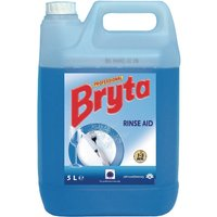 Bryta Warewasher Rinse Aid Concentrate 5Ltr (2 Pack) Pack of 2