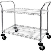 vogue-chrome-2-tier-wire-trolley