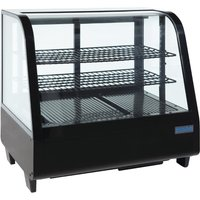 polar-chilled-food-display-100ltr-black