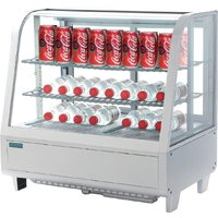 polar-chilled-food-display-100ltr-white