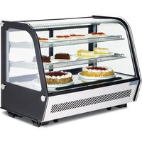 polar-refrigerated-countertop-display-chiller-160-ltr