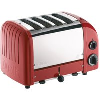Buy Dualit 2 x 2 Combi Vario 4 Slice Toaster Red 42175 - Nisbets plc