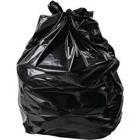 Jantex Large Extra Heavy Duty Black Bin Bags 90Ltr (Pack of 200)