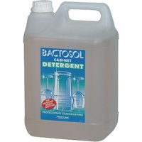 Bactosol Glasswasher Detergent Concentrate 5Ltr (2 Pack) Pack of 2