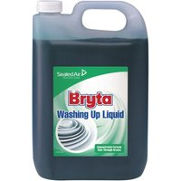 Bryta Washing Up Liquid Concentrate 5Ltr (2 Pack) Pack of 2