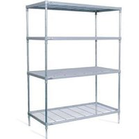craven-4-tier-nylon-coated-wire-shelving-with-castors-1825x1475x491mm