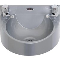 Basix Polycarbonate Wash Hand Basin Grey