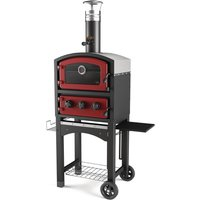 Fornetto Wood Fired Oven and Smoker Red GLPZ5EUR