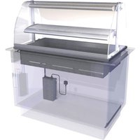 Designline Drop In Heated Serve Over Counter HDL4