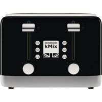 Buy Kenwood kMix 4 Slot Toaster Black TFX750BK - Nisbets plc