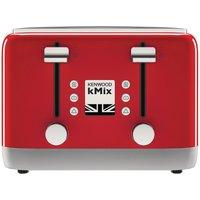 Buy Kenwood kMix 4 Slot Toaster Spicy Red TFX750RD - Nisbets plc