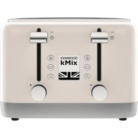 Buy Kenwood kMix 4 Slot Toaster Cream TFX750CR - Nisbets plc