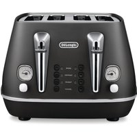 Buy Delonghi Distinta Toaster Black CTI4003BK - Nisbets plc