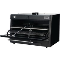 Pira 120 LUX Charcoal Oven Black