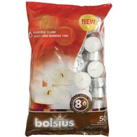 Bolsius 8 Hour Tealights (Pack of 50) Pack of 50