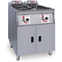 FriFri Super Easy Twin Tank Twin Basket Free Standing Electric Fryer 650138