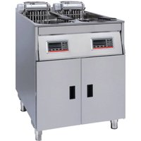 FriFri Vision Twin Tank Twin Basket Free Standing Electric Fryer VF62271