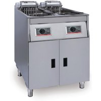 FriFri Basic+ Twin Tank Twin Basket Free Standing Electric Fryer YF62271