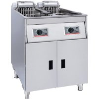 FriFri Basic+ Twin Tank Twin Basket Free Standing Electric Fryer YF62281