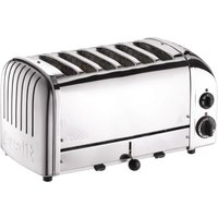 Buy Dualit 6 Slice Vario Toaster Stainless Steel 60144 - Nisbets plc