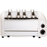 Buy Dualit 4 Slice Sandwich Toaster White 41034 - Nisbets plc