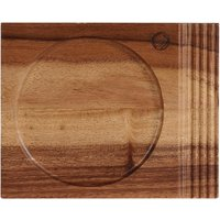 Churchill Alchemy Wood Single Handled Boards 177 x 142mm (Pack of 4) Pack of 4