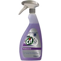 Cif Pro Formula 2-in-1 Cleaner and Disinfectant Ready To Use 750ml (6 Pack)