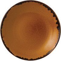 Dudson Harvest Deep Coupe Plates Brown 281mm (Pack of 12) Pack of 12