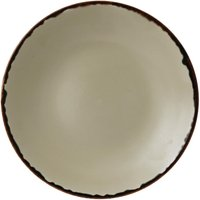 Dudson Harvest Deep Coupe Plates Linen 255mm (Pack of 12) Pack of 12