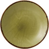 Dudson Harvest Deep Coupe Plates Green 255mm (Pack of 12) Pack of 12