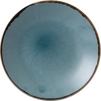 Dudson Harvest Deep Coupe Plates Blue 255mm (Pack of 12) Pack of 12