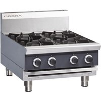 Cobra Countertop LPG Hob Four Burner C6D-B