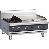 Cobra Countertop LPG Hob with Griddle C9B-B