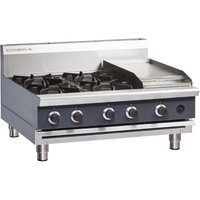 Cobra Countertop LPG Hob with Griddle C9C-B