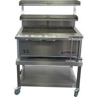 Synergy SG900 Deep Grill with Garnish Rail and Slow Cook Shelf