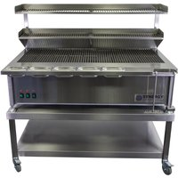 Synergy SG1300 Grill with Garnish Rail and Slow Cook Shelf