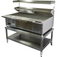 Synergy ST1300 Grill with Garnish Rail and Slow Cook Shelf