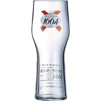 Arcoroc Kronenbourg 1664 Beer Glasses 570ml CE Marked Pack of 24