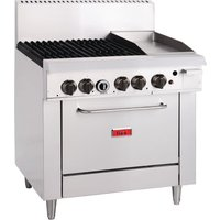 Thor 4 Burner LPG Oven Range with Grill