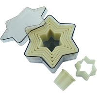 De Buyer Plain Star Pastry Cutters (Pack of 7) Pack of 7