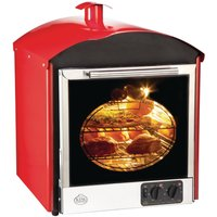King Edward Bake King Solo Oven Red BKS-RED