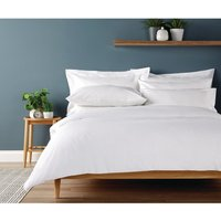 Eco Organic Open Duvet Cover White Super King