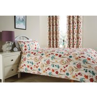Essentials Moorhouse Single Duvet Cover Ruby